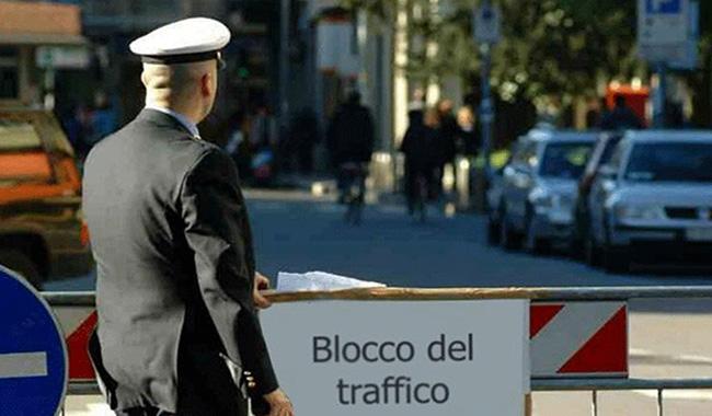 Limitazioni al traffico domenica 17 febbraio