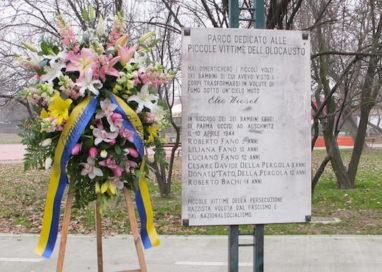 Cerimonia in ricordo dei bambini ebrei di Parma morti ad Auschwitz