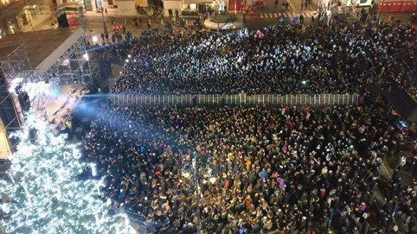 Capodanno in Piazza: niente fuochi d'artificio, vetro, alcol e lattine