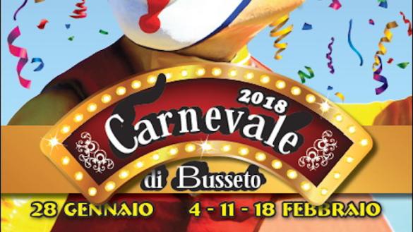 Al via domenica 28 gennaio il Carnevale di Busseto!