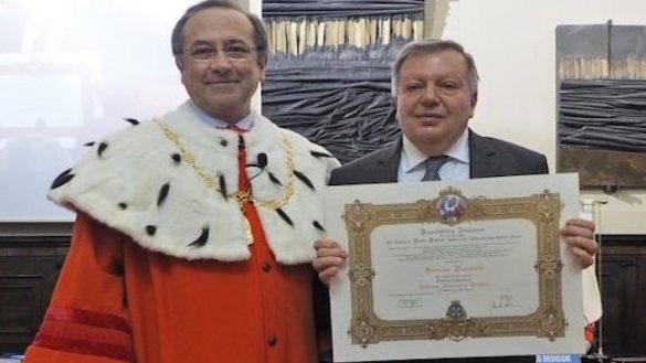 Romano Marabelli professore ad honorem in Medicina veterinaria pubblica