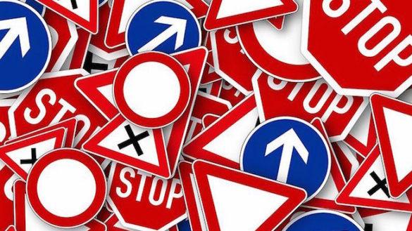 Rifacimento della segnaletica sulle principali strade provinciali