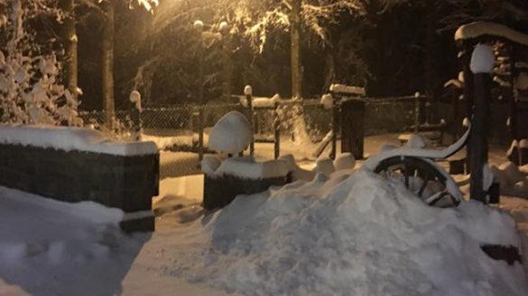 Arriva la neve, per la notte rischio pioggia ghiacciata