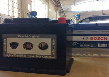 Allarme gelo: da Officina Targa Parma sconto del 25% su tutte le batterie