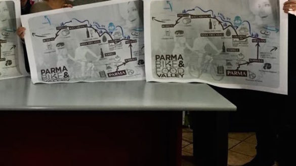 Bike food valley, una ciclabile per unire Parma e la bassa