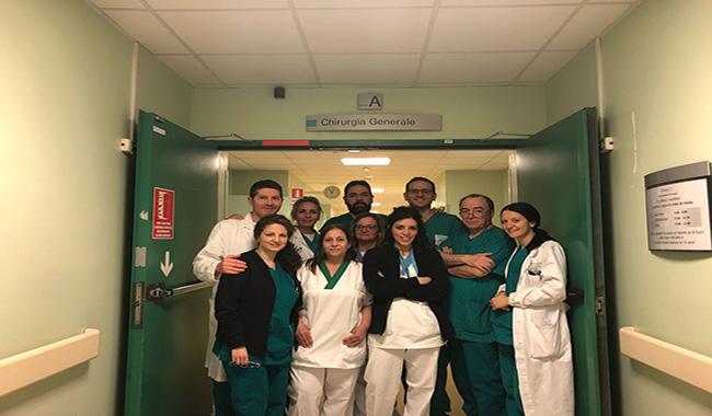 Chirurgia guidata dalla fluorescenza: l'ospedale di Vaio protagonista in Europa