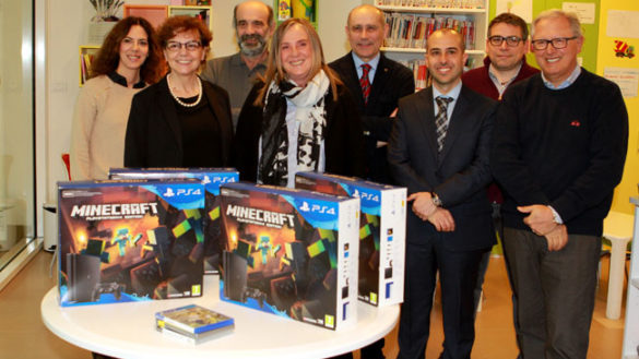 Cna Parma dona quattro playstation all'Ospedale dei Bambini