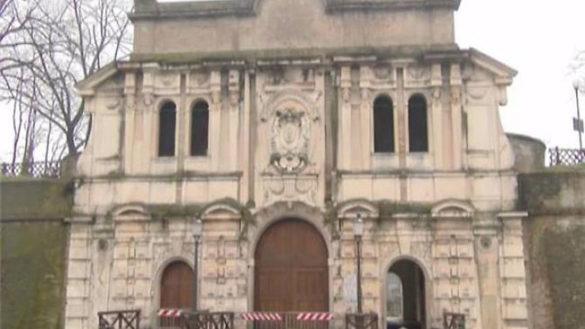 Cittadella: chiuso l'ingresso monumentale del parco