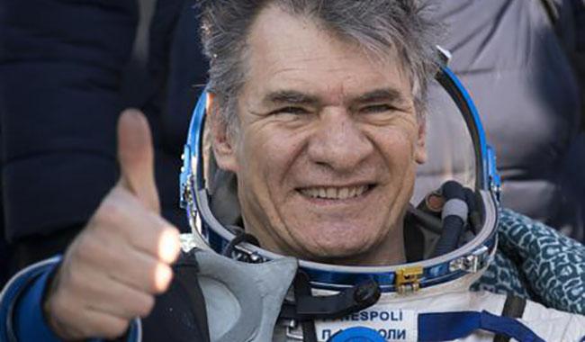 L'Astronauta Paolo Nespoli incanta gli studenti di Parma