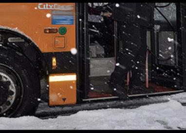 Via Colorno incidente Autobus, illesi studenti