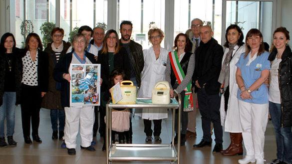 Neonatologia, la donazione nel ricordo di Alessandro