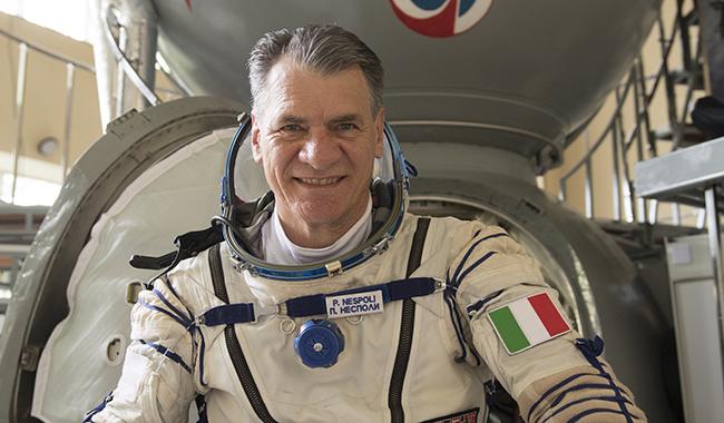 """20 Marzo: """"Spazio all'ingegno"""", all'Università di Parma l'astronauta Paolo Nespoli"""
