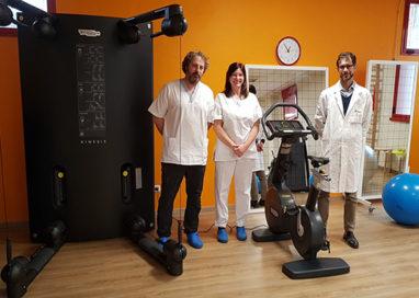 Hospital Piccole Figlie, nuovi macchinari nella palestra