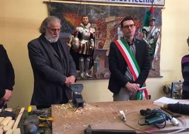 Mimmo Cuticchio dona alla città di Ranuccio I Farnese