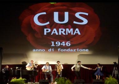 Viaggio nel tempo: il Cus Parma ha festeggiato i 72 anni di attività