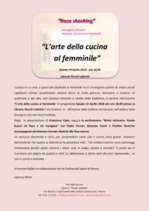 Rosa Shocking: ricette e citazioni, l\'arte della cucina la femminile ...