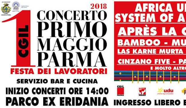 1 Maggio, a Parma rinasce la Festa dei Lavoratori!