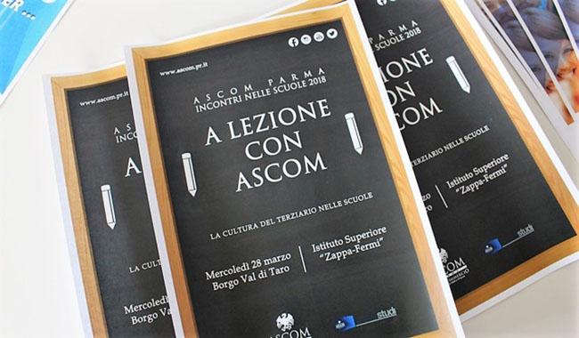 """""""A lezione con Ascom"""" all'Istituto Zappa-Fermi di Borgotaro"""