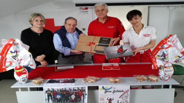 Croce Rossa e solidarietà: regalati ad Anmic computer e tablet
