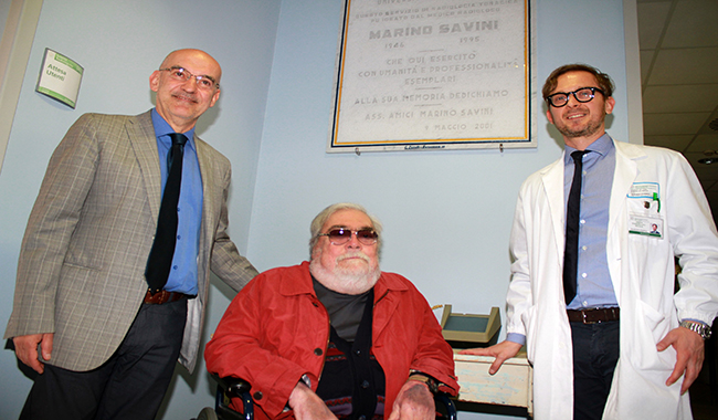 Radiologia: una targa per ricordare Marino Savini