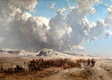 """ALBERTO PASINI, """"La carovana dello Shah di Persia"""""""