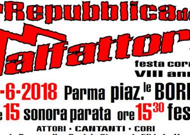 La Repubblica dei Malfattori, sabato in piazzale Borri