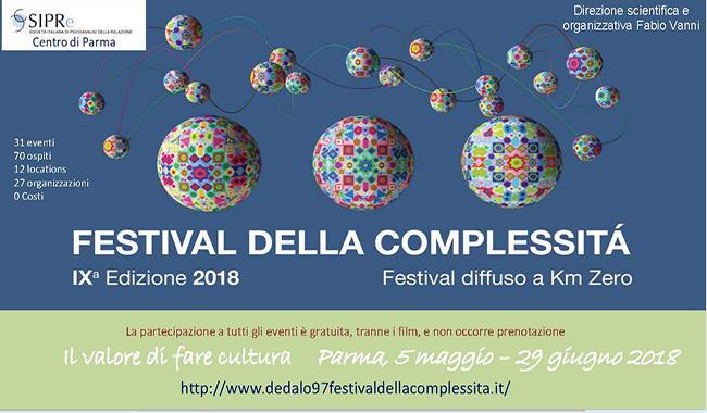 """Festival della complessità - """"Il Valore di fare cultura"""""""