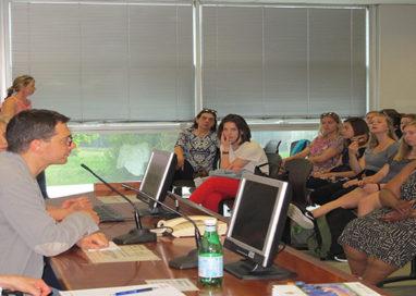 Dagli States a Parma in visita nelle scuole d'infanzia