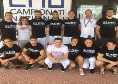 CNU 2018, Cus Parma chiude con un ricco bottino di medaglie