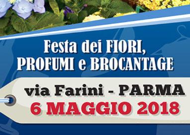 """Via Farini, torna la """"Festa dei Fiori, Profumi e Brocantage"""""""