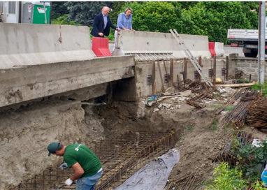 Colorno, saranno conclusi entro giugno i lavori del ponte sul Lorno