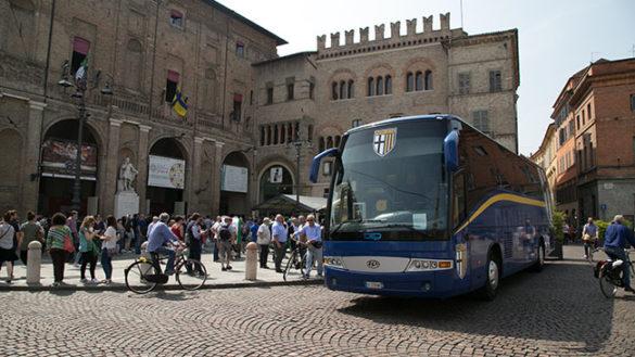 La premiazione del Parma Calcio per la Serie A