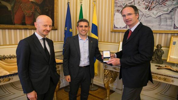 Pizzarotti e Casa incontrano l'ambasciatore d'Italia in Svizzera Marco del Panta