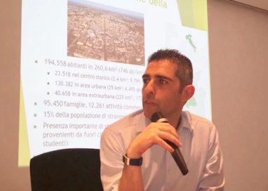 Il sindaco Federico Pizzarotti al Forum 'Rinnova' a Latina