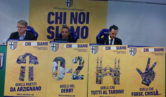 Parma calcio, al via la campagna abbonamenti in nome dei tifosi