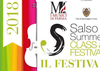 """Salso Summer Class & Festival 2018: """"Amore. La musica, un tema senza fine"""""""