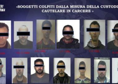 Spaccio, maxi-operazione: 14 arresti e 150 consumatori