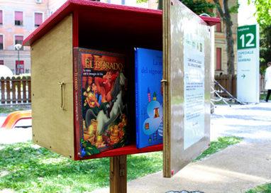 I libri abitano il giardino dell'Ospedale dei bambini Pietro Barilla; arriva il bookcrossing!