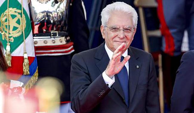 Il Presidente Mattarella arriva a Parma