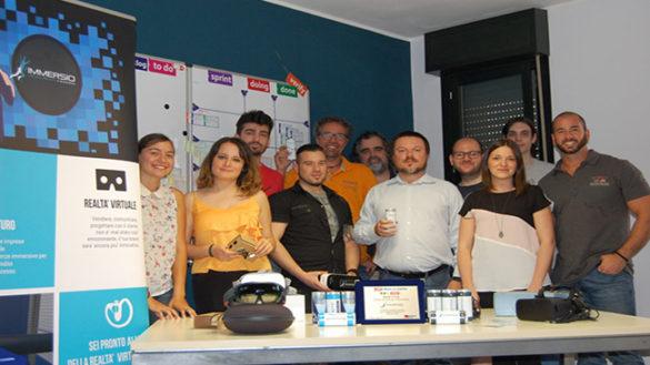 La startup Immersio vince il premio speciale per l'innovazione per l'Industria 4.0