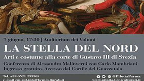 """""""La Stella del Nord. Arti e costume alla corte di Gustavo III di Svezia"""""""