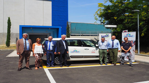 Parmalat dona un'auto per il Taxi sociale della Pedemontana