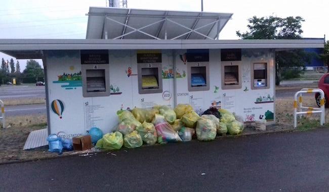 """Ecostation di via Traversetolo… bravo Sindaco"""