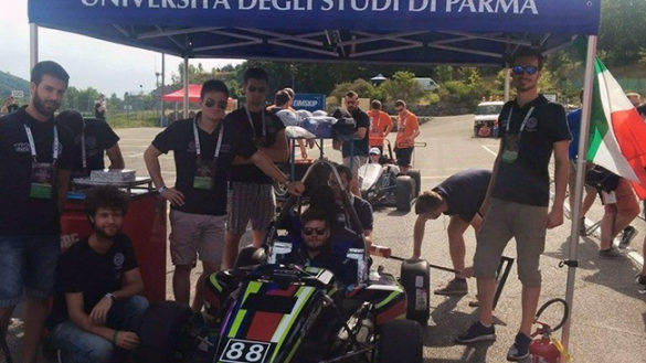Unipr Racing Team al campionato formula Sae Italy a Varano Melegari