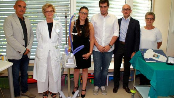 Donazione in Neonatologia, nel ricordo di Leonardo
