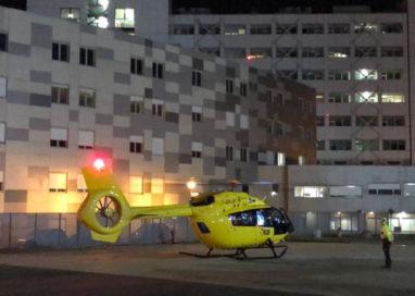 Elisoccorso notturno, atterrati al Maggiore i primi due pazienti
