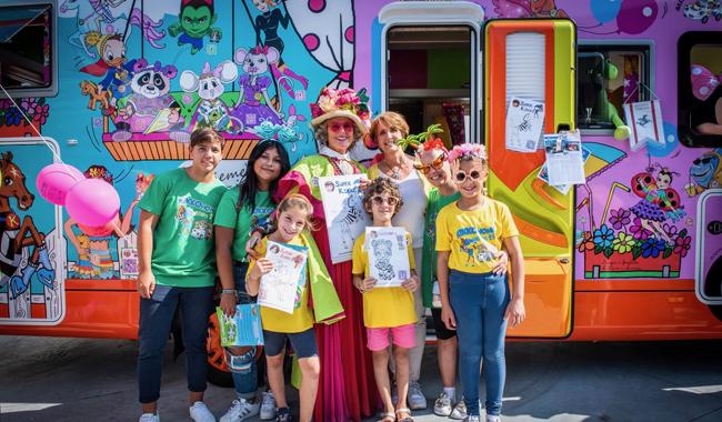 Al Salone del Camper, il Taxi colorato che accompagna i bimbi in ospedale