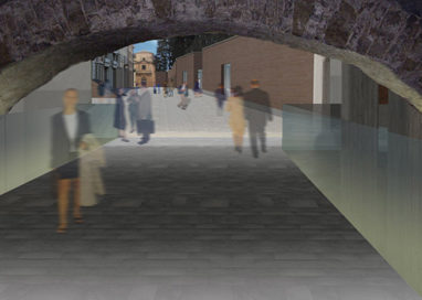 Il 7 ottobre riaprirà il Ponte Romano, hub per studenti e sala convegni