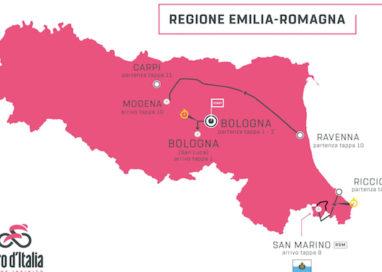 Giro d'Italia, Emilia-Romagna protagonista. Ma niente Parma…
