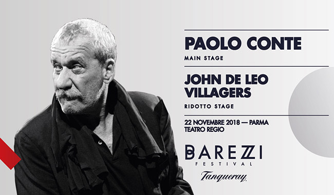 Paolo Conte in concerto al Teatro Regio